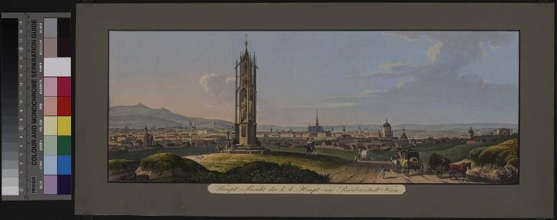 Ansicht von Wien, 1832