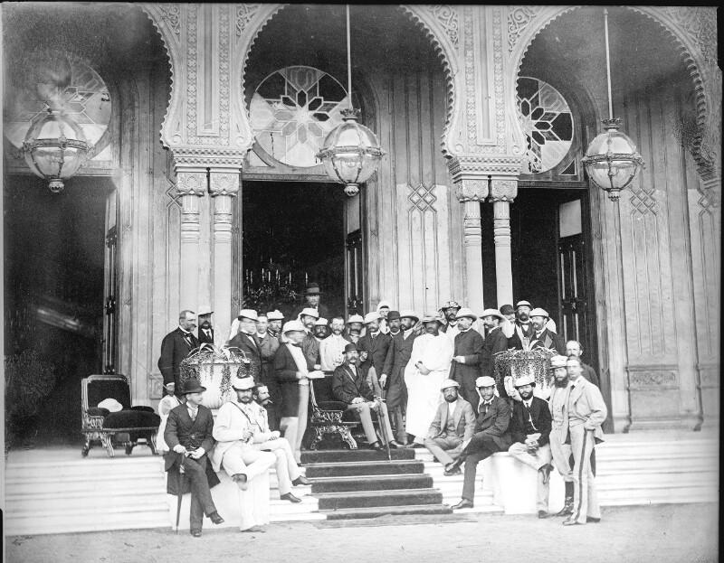 Kaiser Franz Joseph I. in Kairo