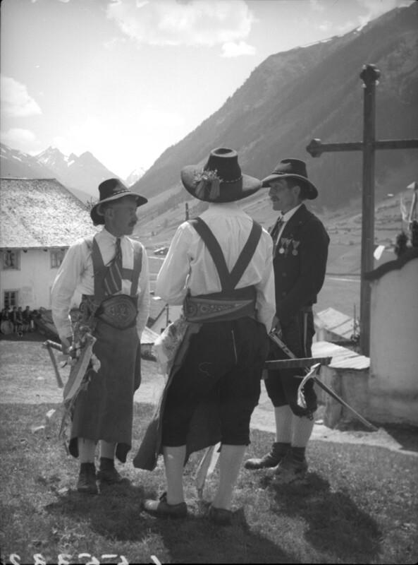 Bauern aus Ischgl im Paznauntal