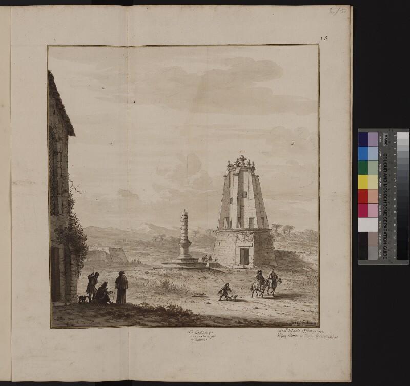 Gedenkbrunnen für den Großmeister Alof von Wignacourt