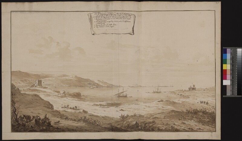 Ansicht der St. Paul's Bay in Malta