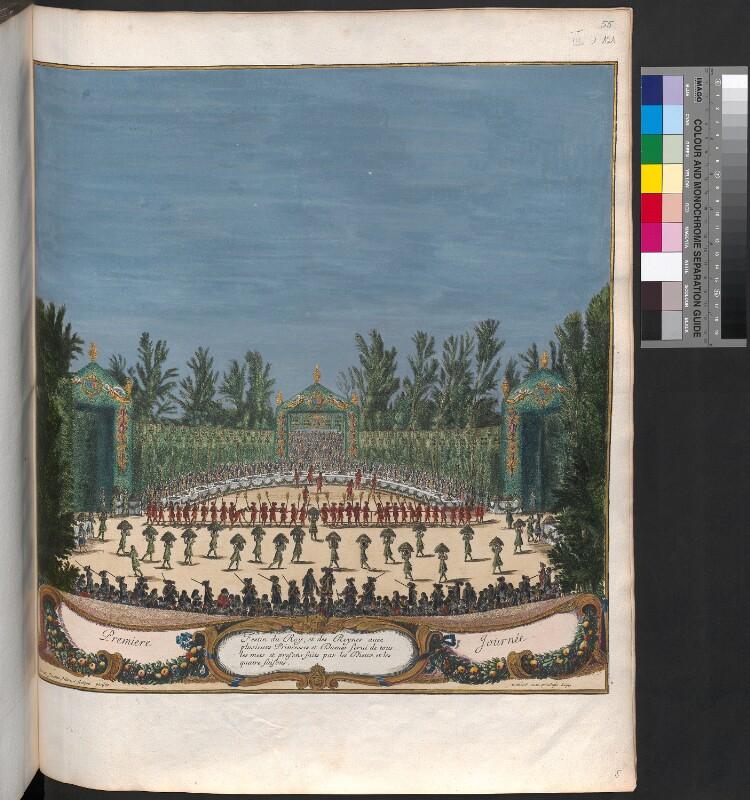 """Eröffnungsfeier """"Les plaisirs de l´Isle enchantée"""" von 7.-13.5. 1664"""