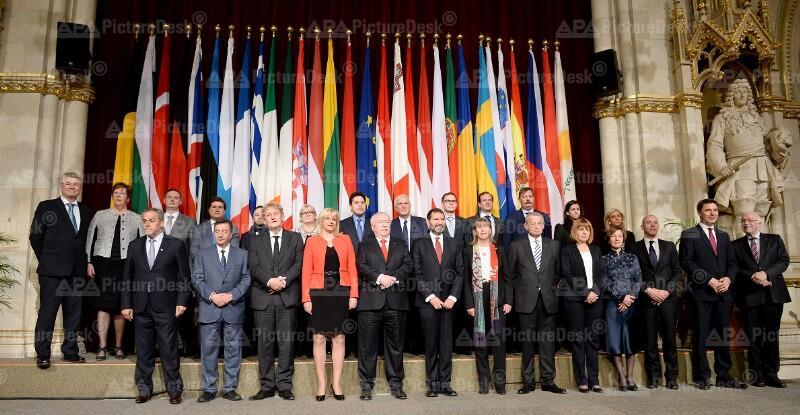 Bürgermeister der EU-Hauptstädte in Wien