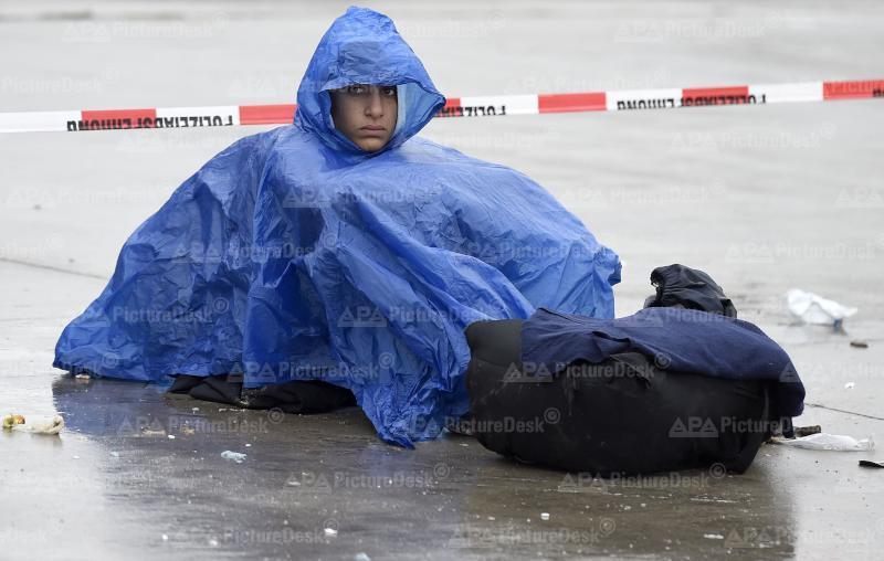 Ein Flüchtlingskind