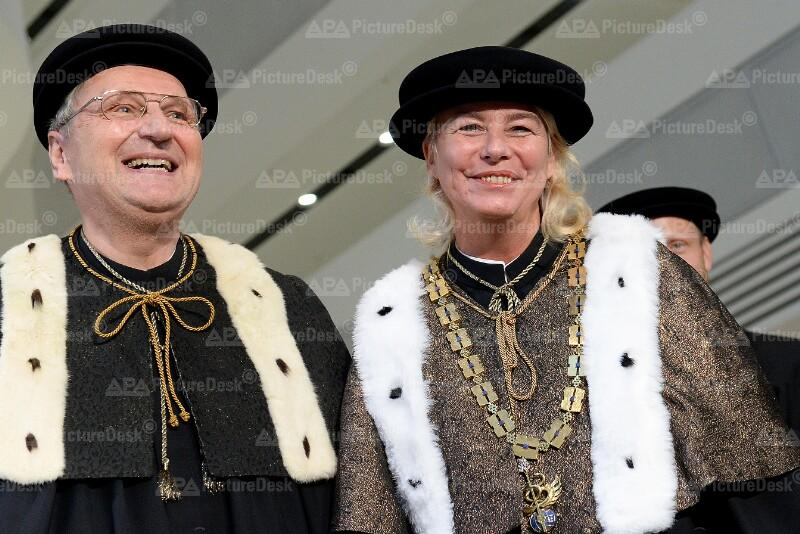 Edeltraud Hanappi-Egger und Christoph Badelt