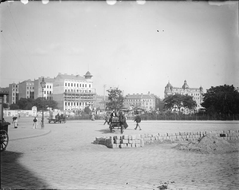 Wiener Stadtansicht um 1900
