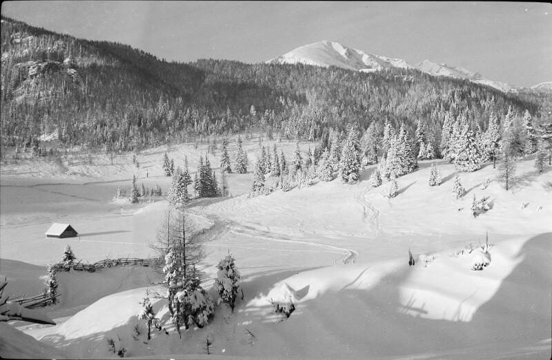 Winterlandschaft bei Flattnitz