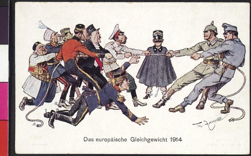 Das europäische Gleichgewicht 1914