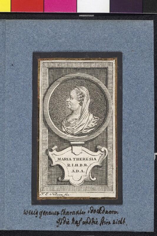 Maria Theresia, römisch-deutsche Kaiserin