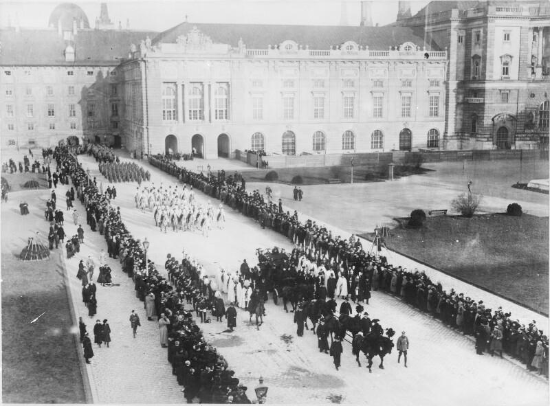 Leichenzug von Kaiser Franz Joseph