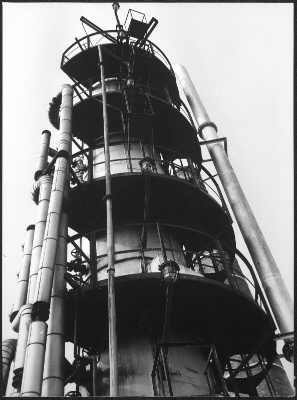 Raffinerie Wien-Kagran der Mobil-Oel-Austria