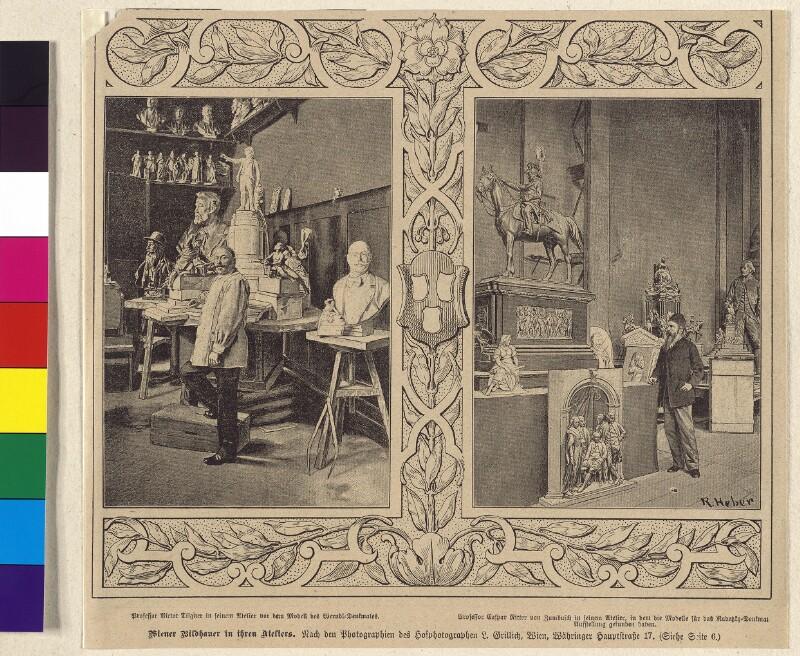 Wiener Bildhauer in ihren Ateliers