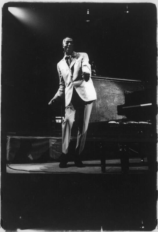 Duke Ellington auf der Bühne im Madison Square Garden.