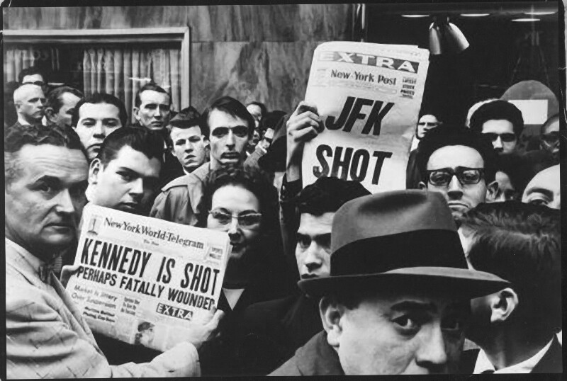 Berichterstattung über die Ermordung von John F. Kennedy