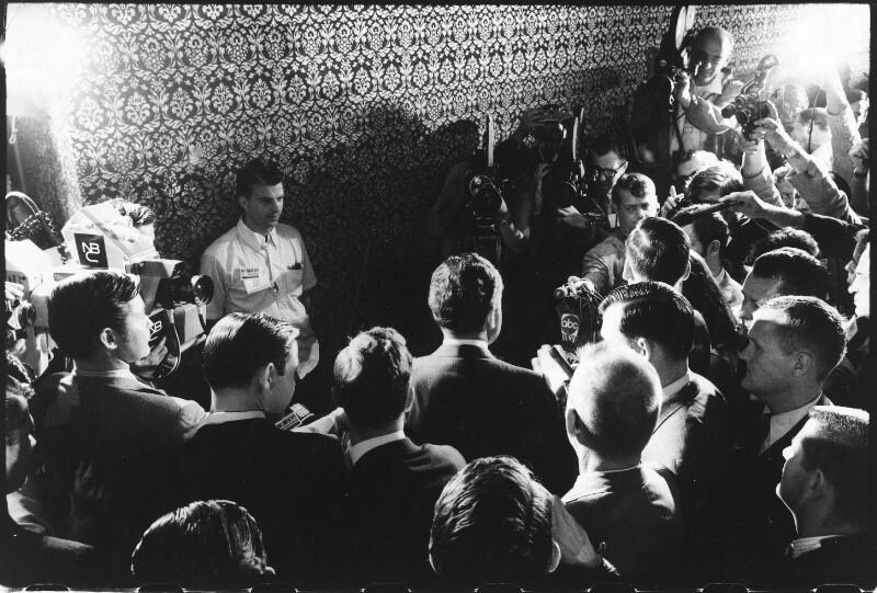 Pressekonferenz von Richard Nixon