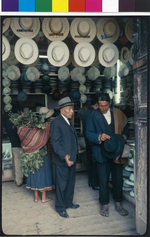 Verkaufsladen für Hüte