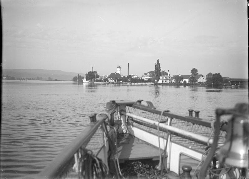 Blick aufs deutsche Ufer