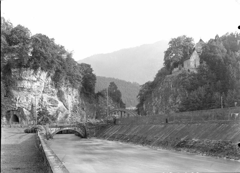 Durchbruch der Ill ins Rheintal