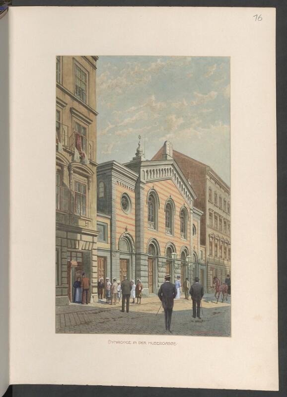Wien 16, Hubergasse 8 - Synagoge