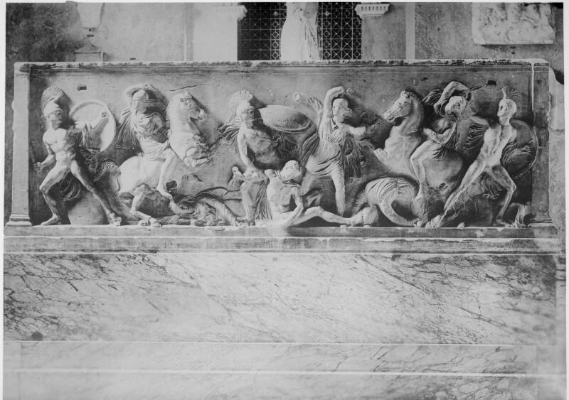 Amazonensarkophag im Kunsthistorischen Museum, Wien