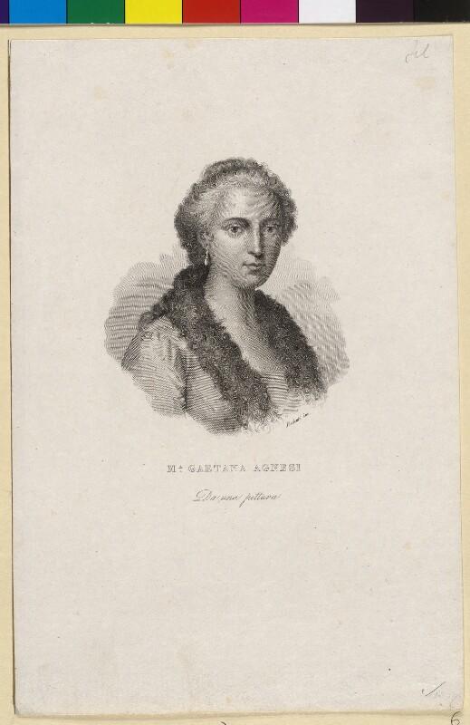 Agnesi, Maria Gaetana