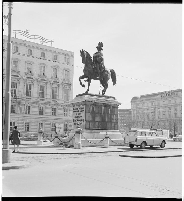 Schwarzenberg-Denkmal in Wien