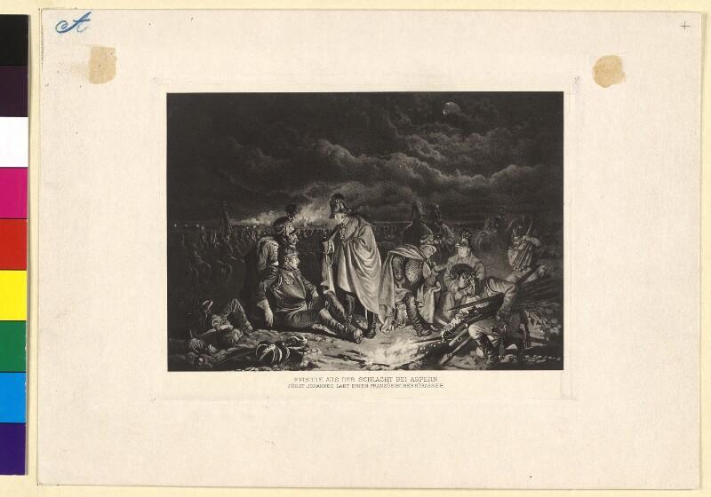 Episode aus der Schlacht bei Aspern