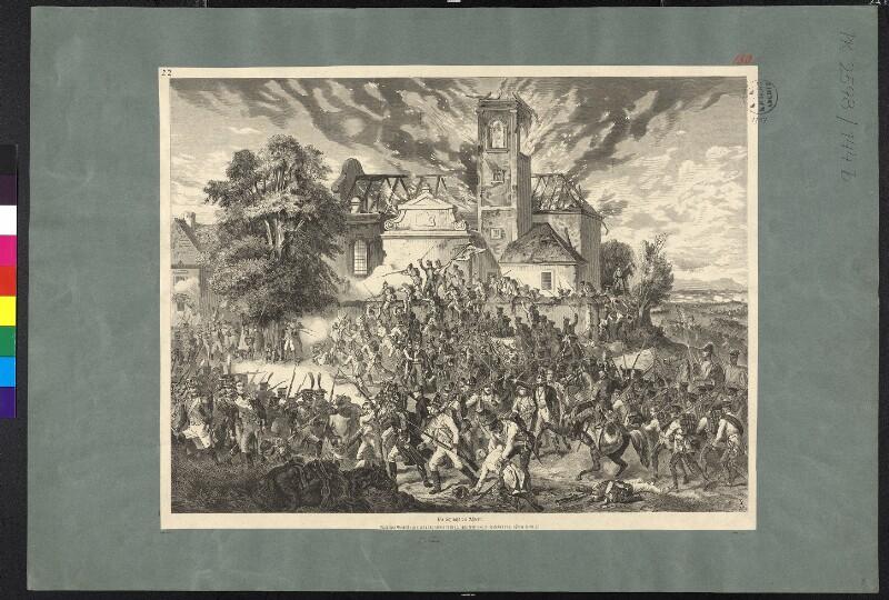 Schlacht bei Aspern, am 21.-22.5.1809
