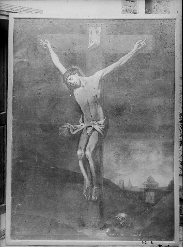 Gemälde 'Kreuzigung Christi' in der Neulerchenfelder Pfarrkirche, Wien