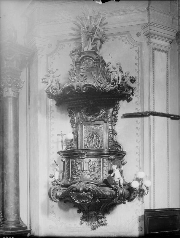 Kanzel in der Neulerchenfelder Pfarrkirche, Wien