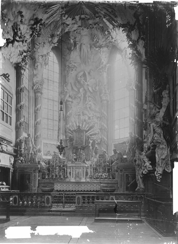 Hochaltar in der Michaelerkirche, Wien