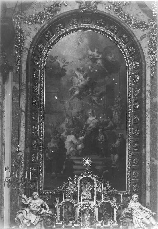 Altar im Querhaus der Karlskirche, Wien