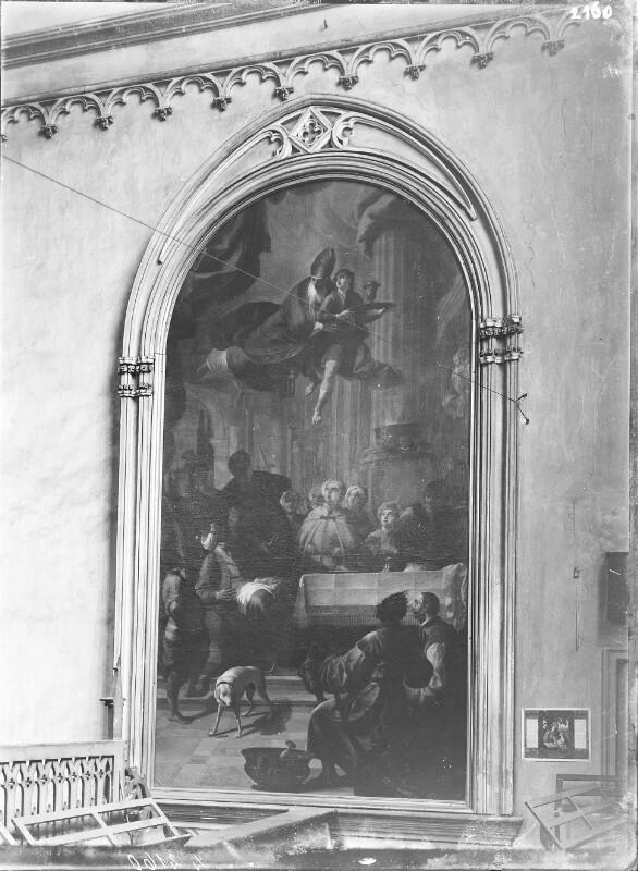 Altar in der Minoritenkirche, Wien