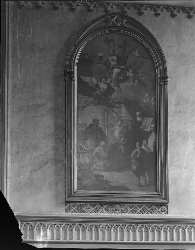 Gemälde in der Minoritenkirche, Wien