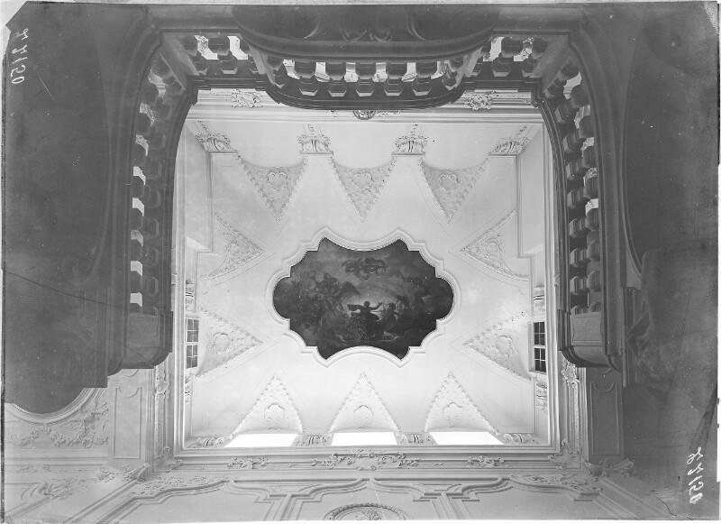 Deckengemälde im Winterpalais Prinz Eugen in Wien