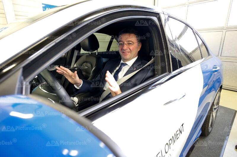 AUTONOMES FAHREN - ERSTE TESTS AUF ÖSTERREICHISCHEN AUTOBAHNEN: LEICHTFRIED