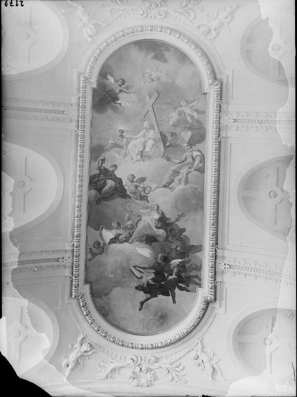 Fresko in der Kapelle von Schönbrunn