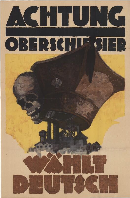 Achtung Oberschlesier - Wählt Deutsch