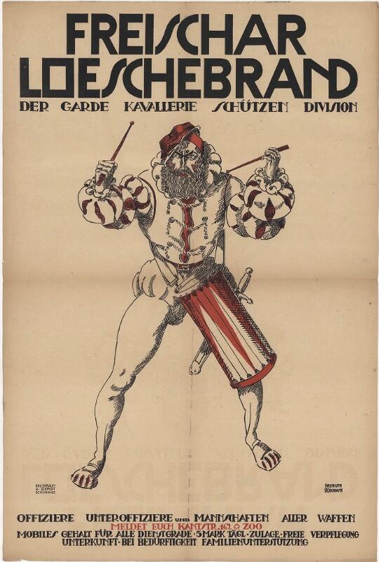 Freischar Loeschebrand - Der Garde Kavallerie Schützen Division
