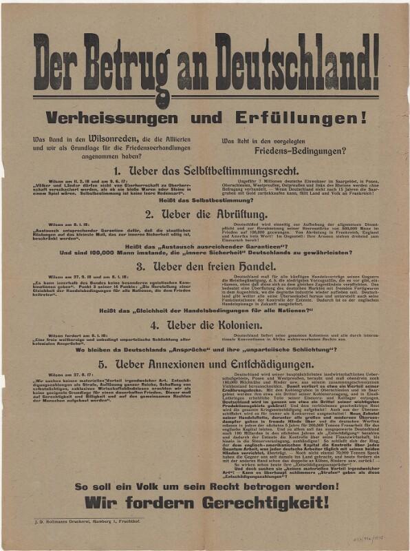 Der Betrug an Deutschland! Verheissungen und Erfüllungen!