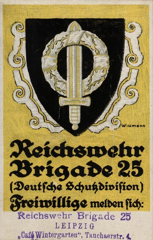 Reichswehr Brigade 25 - Deutsche Schutzdivision