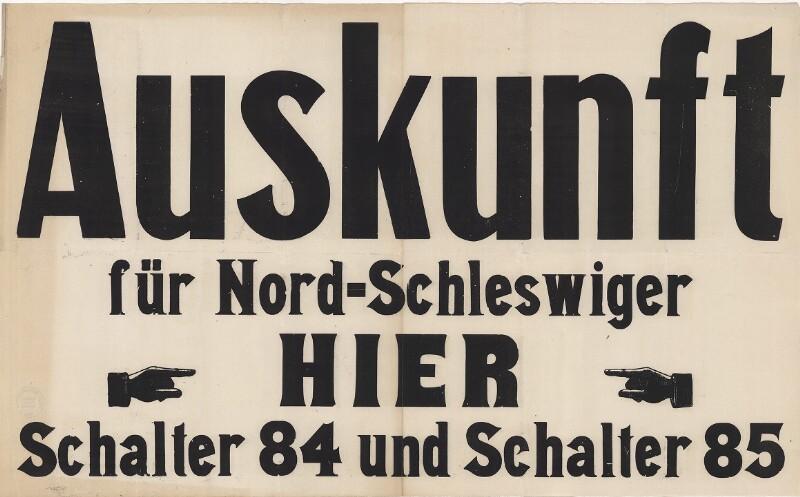 Auskunft für Nord-Schleswiger