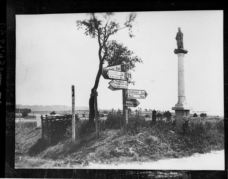 Grenze zu Ungarn bei Schattendorf