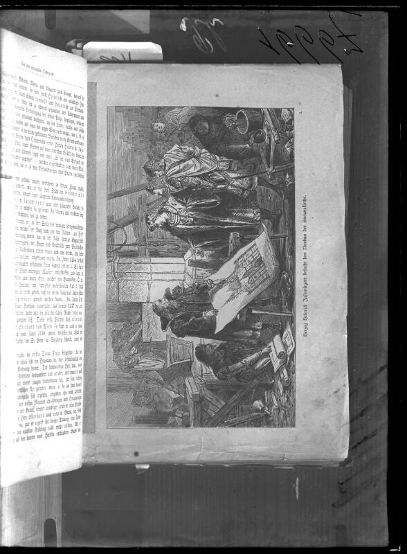 Heinrich II. besucht den Neubau des Stephansdoms