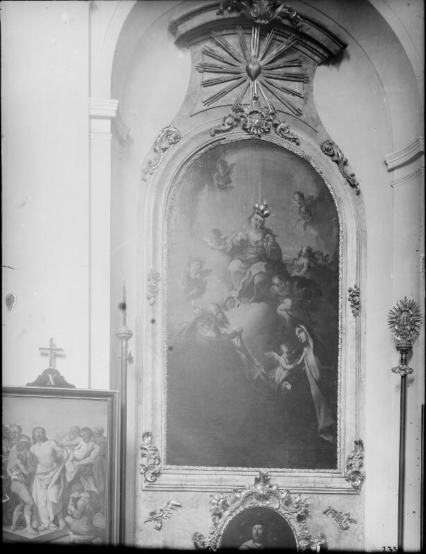 Wien 18, Seitenaltar in der Währinger Pfarrkirche