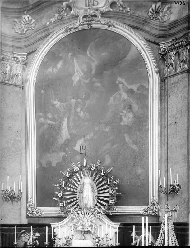 Wien 18, Altar in der Währinger Pfarrkirche