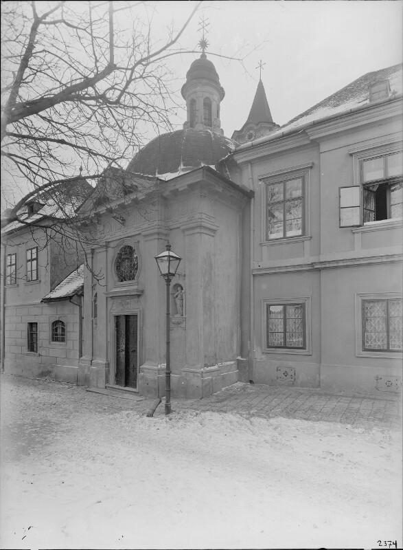 Wien 18, Johannes-Nepomuk-Kapelle in Gersthof