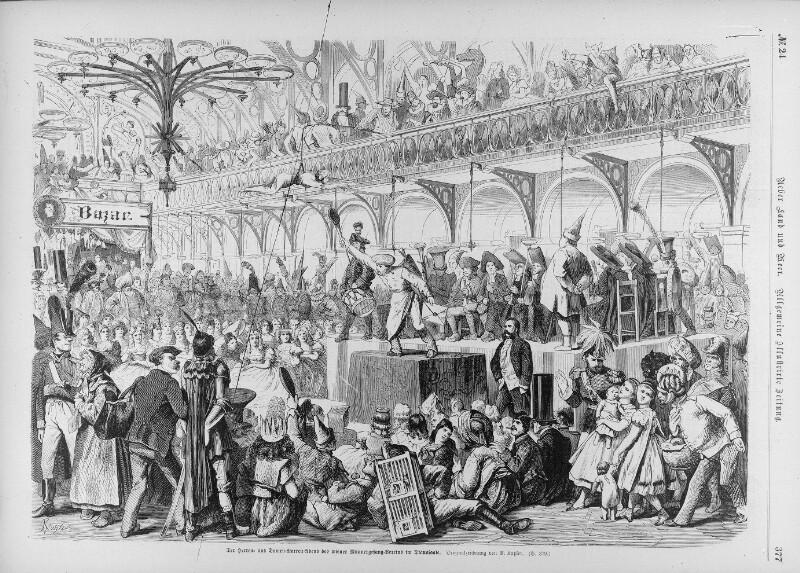 Wiener Männergesangsverein im Wiener Dianasaal, 1865