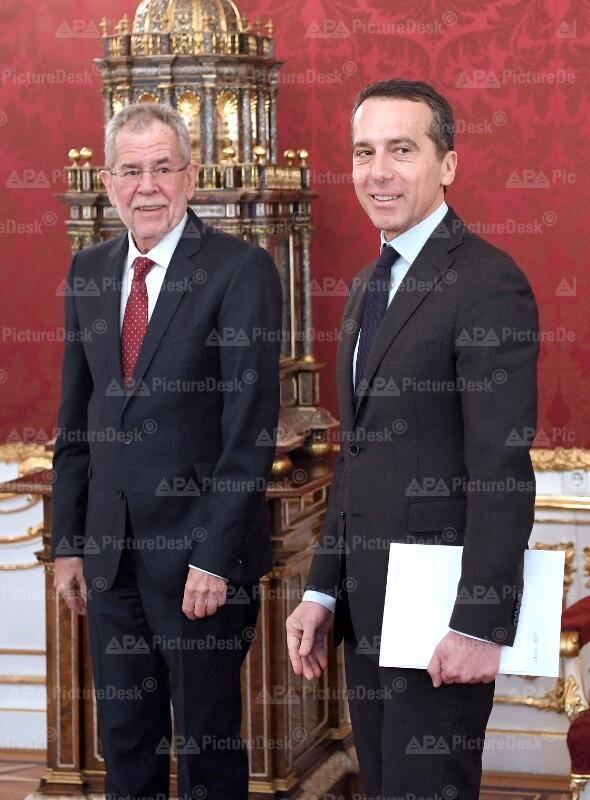 Alexander Van der Bellen und Christian Kern