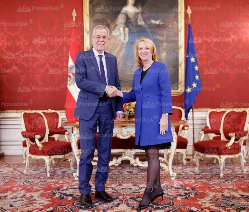 Alexander Van der Bellen und Doris Bures